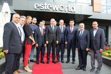 Bakanımız Mehdi Eker'den Anlamlı Ziyaret