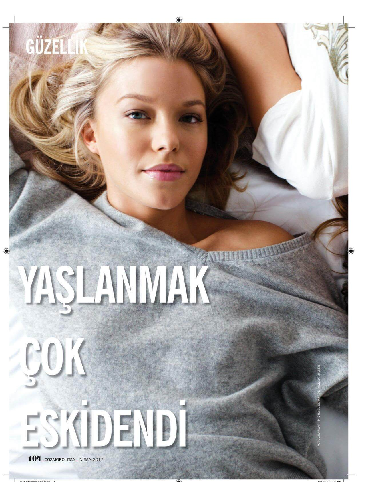 YAŞLANMAK ÇOK ESKİDENDİ