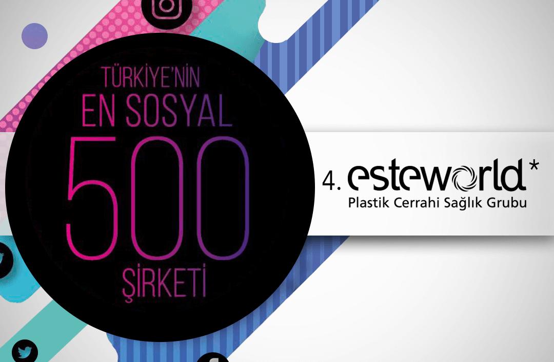 ESTEWORLD EN SOSYAL ŞİRKETLERDEN BİRİ!